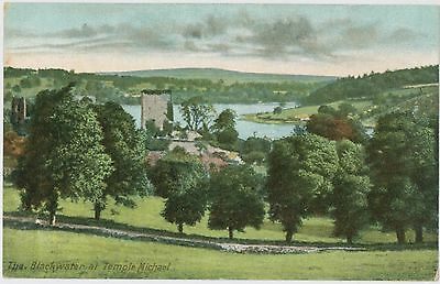 Temple Michael, The Blackwater - postcard; Early 1900's