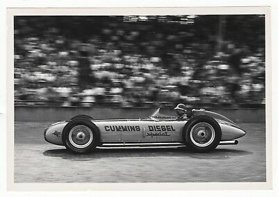 1952 Indy 500 Cummins Diesel Special Photograph HOP-UP Magazine RARE Photo