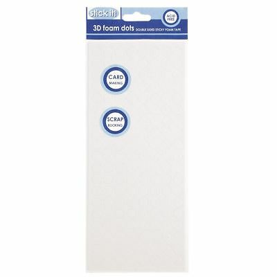 Stick It 3D Adhesive Double Sided Foam Pads - Round