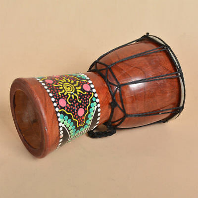 6 inch Professional African Djembe Drum Bongo Wooden Sound Musical Instrument
