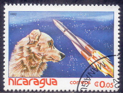 Nicaragua Theme  Dogs -  Spacecrafts 1982.