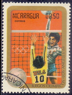 Nicaragua Volleyball  - Olympic Games 1984.