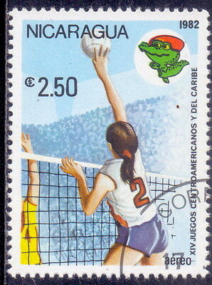 Nicaragua  Volleyball - Sports   1982.