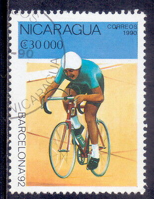Nicaragua  Cycling - Olympic Games 1990.