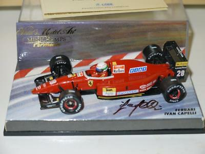 Minichamps 1992 Ivan Capelli Ferrar F192 Fully Modified And Autographed!