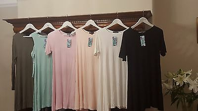 BNWT Joblot 15 Assorted Swing Dresses S/M RRP £10 each Assorted colours/styles