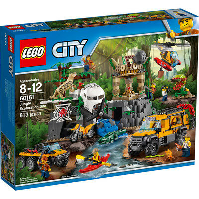 LEGO City Jungle Explorers 60161 Jungle Exploration Site Construction Toy