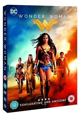 Wonder Woman Dvd 2017 Genuine Uk Dvd Brand New And Sealed Free Postage