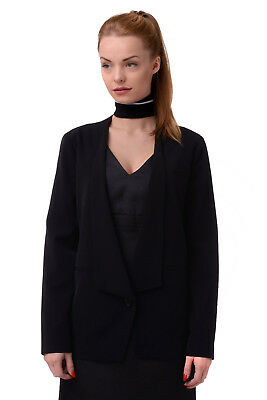 STEFANEL Size 40 / S Women's BU210D Lapel Collar Single Breasted Blazer Jacket