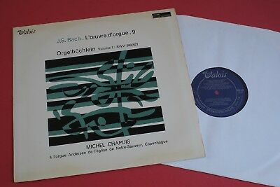 MB 849 Valois Stereo J.S Bach Organ Works Michel Chapuis Vol.9 FRANCE LP 1968