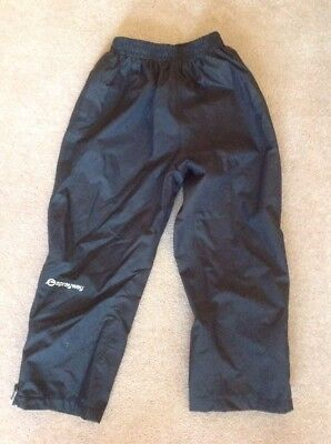 Sprayway Waterproof Trousers Age 6-7 Never Worn