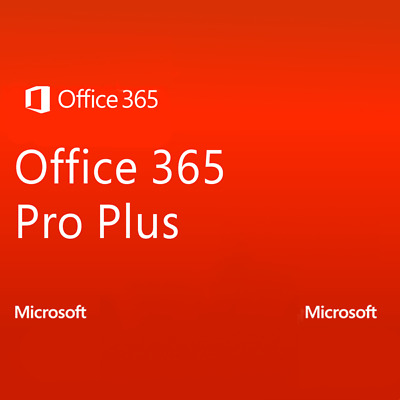 Microsoft Office 365 ProPlus 5 PCs LIFETIME Account Subscription -EMAIL DELIVERY