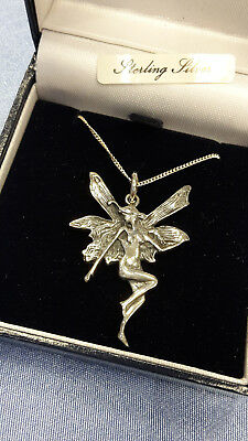 Fairy Pendant incl. Chain all Sterling Silver