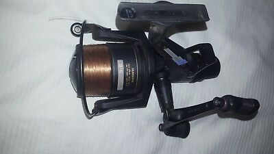 fishing reel shimano 6010 XT7 AREO GT BAITRUNNER WITH SPARE SPOOL