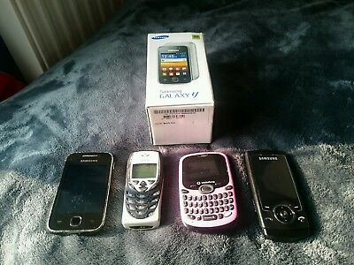 Job Lot Mobile Phones Samsung Nokia & Vodafone Branded