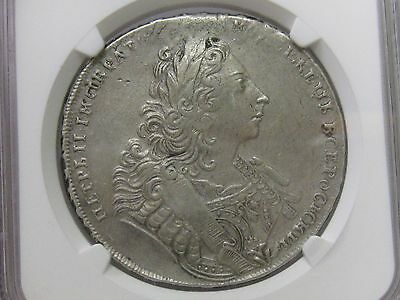 1729 Russia Rouble Ngc Au