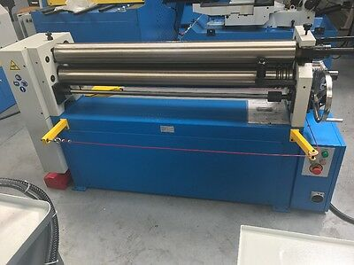 Power operated bending rolls , rollers 1550mm x 120mm 3.5mm capacity