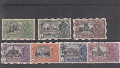 India King George V - Silver Jubilee 1935 - Complete set of 7 - mint