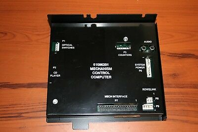 Untested/Parts Rowe 61086201 Mechanism Control Computer (SEE PHOTOS)