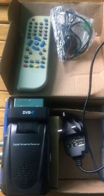 Free View DVB - T2 Digital Terrestrial Receiver Scart Port USB Play & Record