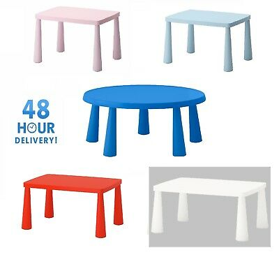 Ikea Mammut Kids Children's table Plastic Toddlers Furniture Indoor,Outdoor New
