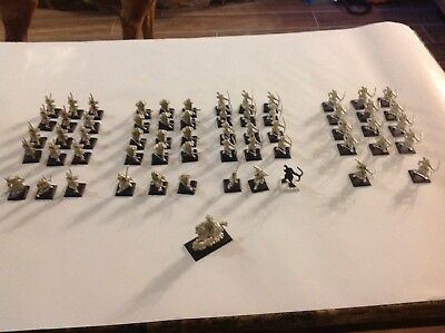 HUGE Clan War Miniature Lot Metal Legend Of The Five Rings L5R Figures  60 minis