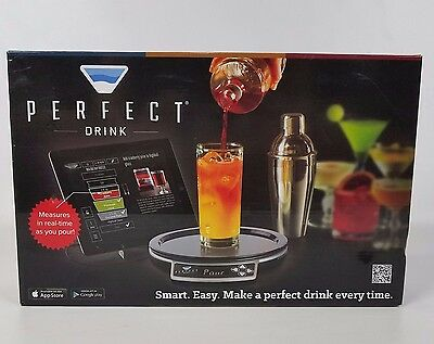Perfect Drink Electronic Smart Bartender with Scale and Shaker NEW