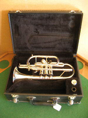 Jupiter Cornet SCR-520 with Case and Jupiter 7C MP - Refurbished Play Ready