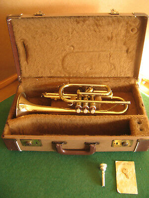 Yamaha 231 Cornet late 1970's - Refurbished & Play Ready - Great Player!