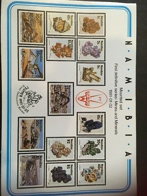 Namibia Stamps - Mint FDC and Mounted Sets