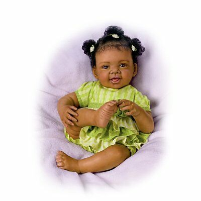 Ashton Drake ALEXIS So Truly Real Baby Girl Doll by Waltraud Hanl