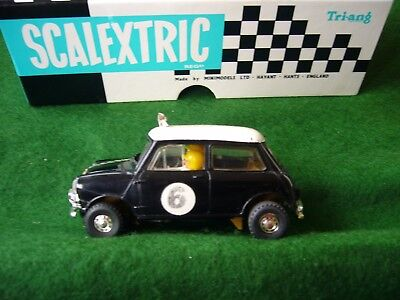 Vintage Scalextric C 07 Rally Mini Cooper S