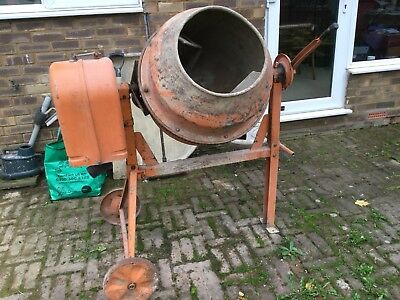 Cement mixer Electric 140L