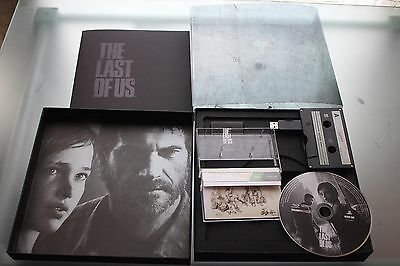 the last of us press kit limited edition 1252 of 2505 like new,perfect ps3 ps4
