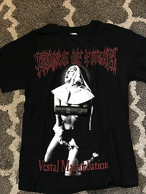 Cradle Of Filth t-shirt size M.  Rare