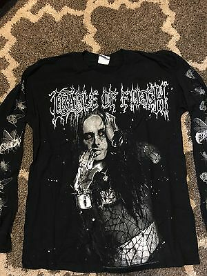 Cradle Of Filth long sleeve shirt size M  Rare