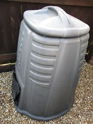 Large compost bin as seen in photo