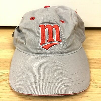 DQ Dairy Queen 2002 MN Twins Baseball Cap Day Promo Hat Tan Red Collectible NEW