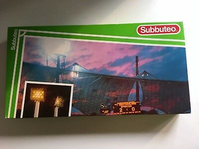 Subbuteo Floodlights (With box. Good condition)