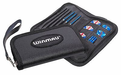 Winmau Super Darts & Accessories Soft Case Wallet Black