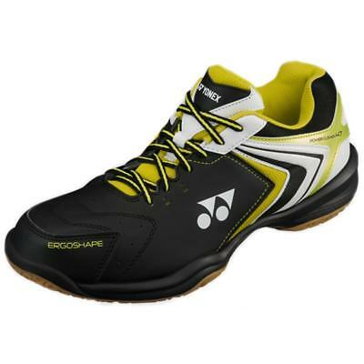 Yonex Power Cushion SHB 47 Mens Indoor Badminton Shoes - Black/Lime