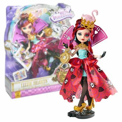 New Ever After High Way Too Wonderland Lizzie Hearts Doll Official