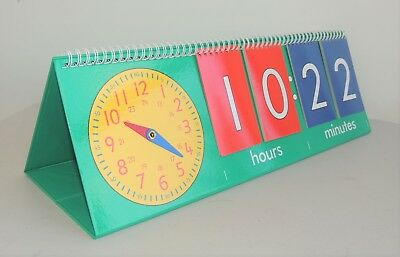 Tell Time Flip Chart. Demo Size by EDX Education