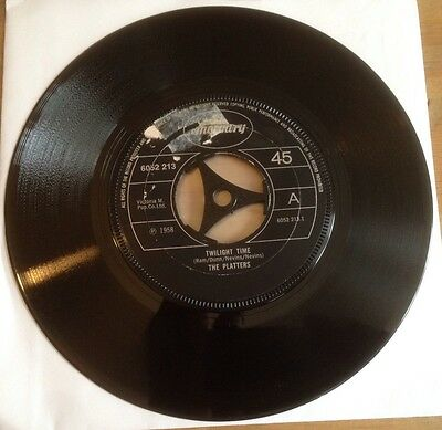 THE PLATTERS-TWILIGHT TIME-Mercury Label-6052 213-1958