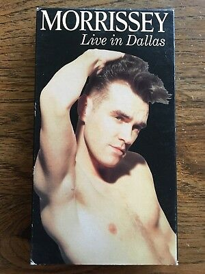 Morrissey Live In Dallas VHS Warner Reprise Video Rock The Smiths
