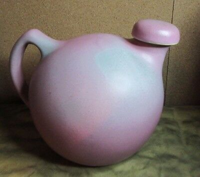 "VINTAGE HYWOOD by NILOAK <>OZARK DAWN II <>by LEWIS Ball Pitcher 7"" water vessel"