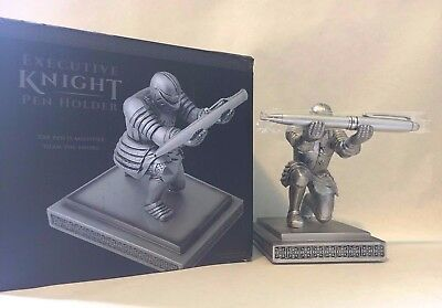 Executive Knight Pen Holder - Pen Included