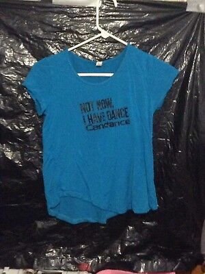 Crop Top Color Blue.... Size Small... Candance