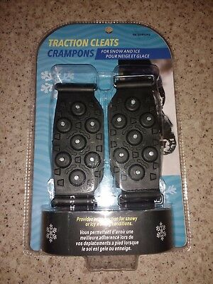 Traction Cleats For Snow And Ice Brand New In Packaging