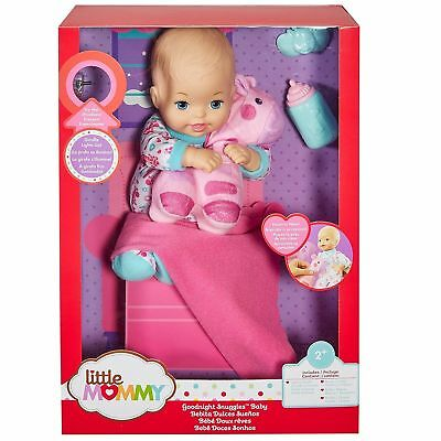 Little Mommy Goodnight Snuggles Baby (Colors May Vary) - Play Doll by Mattel